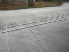 rozsdamentes kerékpár tárolók gyártása egyedi méret alapján