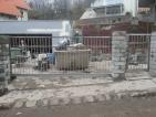 rozsdamentes úszó tolókapu - kiskapu készítés - beépítés