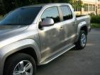 Volkswagen Amarok rozsdamentes lemezelt fellépő küszöb