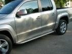 Volkswagen Amarok rozsdamentes lemezelt küszöbfellépő