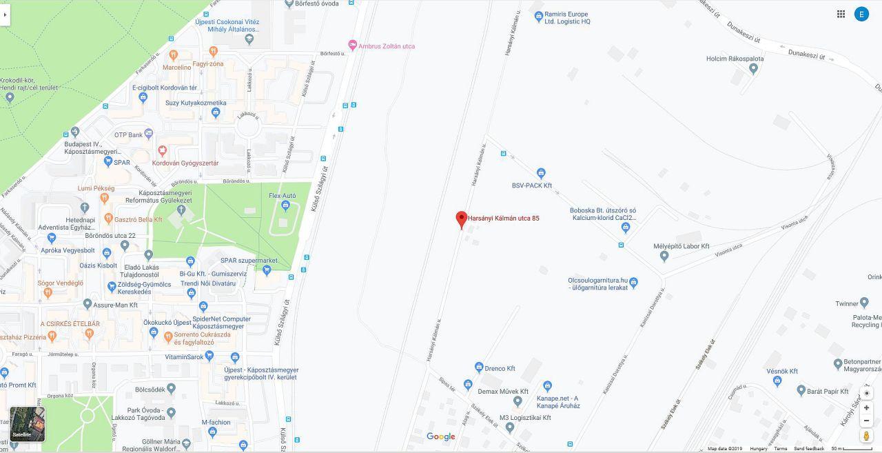 KarkusMeister térkép